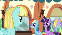 Helia 'Good luck, Rainbow Dash!' S4E10
