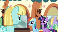 Helia 'Good luck, Rainbow Dash!' S4E10
