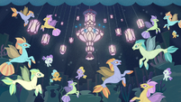 Illustration of seaponies in Seaquestria S8E16