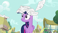 Journal pages falling on Twilight's head S7E14.png