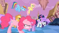 Main ponies Fierce Determination S2E2