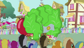 Pinkie Pie's float overtaking tomato float S3E4.png