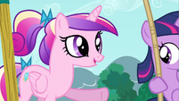 Princess Cadance who's lucky S2E25