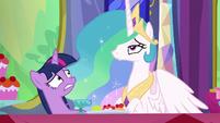 Princess Celestia getting impatient S6E6