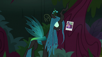 Queen Chrysalis -I'll take her friends away- S8E13