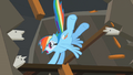 Rainbow Dash kicking S02E03.png