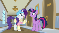 "Rarity ""were we wearing our eye patch?"" S8E16"