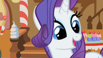 Rarity explains what happened when she got her cutie mark S1E23
