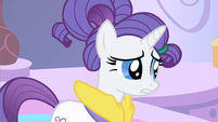 Rarity no pony S1E20