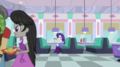 Rarity sitting alone in a diner booth EGS1.png