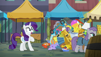 Rarity stricken speechless S6E3