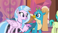 "Silverstream ""were such good teachers!"" S8E9"