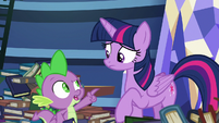 "Spike ""have a problem with that"" S8E24"