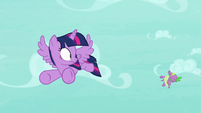 Spike blown backward by the wind S8E11