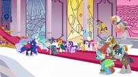 Star Swirl reuniting with Celestia and Luna S7E26