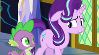 "Starlight ""not exactly thrilled with the options"" S6E1"