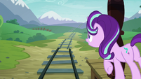 Starlight Glimmer looking down the road S7E24