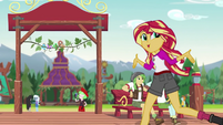 "Sunset Shimmer ""what we've been able to do here"" EG4"