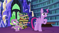 Twilight Sparkle --which should be...-- S6E21