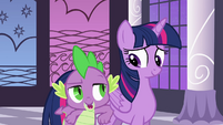 Twilight and Spike -way to take charge- S4E01