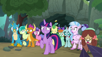 Twilight and students in complete shock S8E17