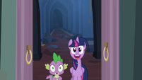 Twilight happy S4E03
