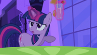 Twilight with a glass of drink S2E25