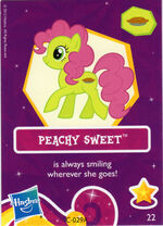 Wave 6 Peachy Sweet collector card
