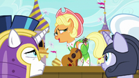 Apple Chord has never heard of Applejack S9E4