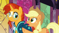 "Applejack ""they went off with Star Swirl"" S7E25"