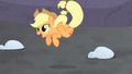Applejack jumping for joy S5E2.png
