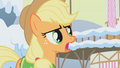 """Applejack snow must be melted """"pronto"""" S1E11.png"""