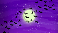 Bats fluttering in the moonlight S5E21