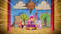 Cutie Mark Crusaders song S1E18