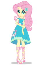Equestria Girls Digital Series Fluttershy official artwork