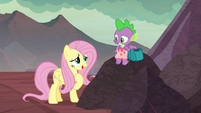 "Fluttershy ""I'm sure he'll love it"" S9E9"