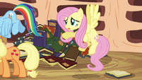 Fluttershy 'If you read a little further you'll see' S3E05