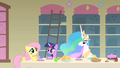 Fluttershy talking with Celestia S1E22.png