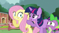 Fluttershy worries for her woodland friends S3E05
