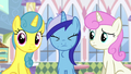 Minuette swallowing donut S5E12.png