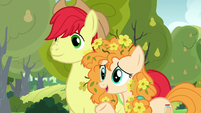 Pear Butter relieved to see Chiffon Swirl S7E13