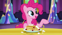 "Pinkie ""Twilight spent all night helping me"" S5E3"