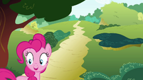 Pinkie Pie 'She's not quite as fast as me' S4E18