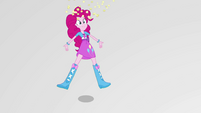 Pinkie Pie tossing old popcorn in the air EGS3