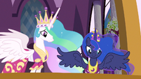 Princess Celestia & Princess Luna are very proud S3E13