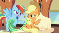 "Rainbow Dash ""what is that?"" S6E1"
