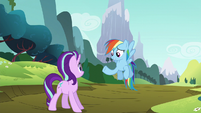 Rainbow Dash --you coming or what--- S6E6
