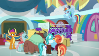 Rainbow Dash -beats me- S9E15