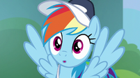 Rainbow Dash hears Snips behind her S9E15