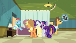 Rainbow Dash no hospital T2E16